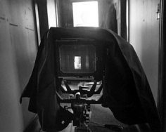 "Abelardo Morell, ""My Camera and Me, 1991"", 20 x 24 inch Gelatin silver print, Edition of 30"