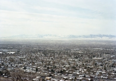 Untitled, Salt Lake City, UT, 2007, 39 x 55 inch Chromogenic Print, Signed, titled, dated and editioned on verso, (VS-07-42) Salt Lake, Valley with Oquirrh Mts, Edition of 5