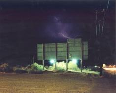 Lightning, Deming, New Mexico, 2000 Chromogenic print, 30 x 40 inches