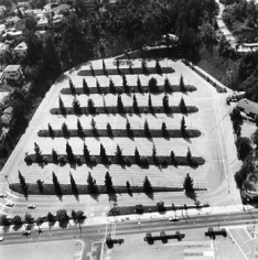 Parking Lots (Hollywood Bowl, 2301 N. Highland) #4, 1967-99, 15 x 15 inch Gelatin Silver Print, Initialed and editioned on verso, Edition 23/3