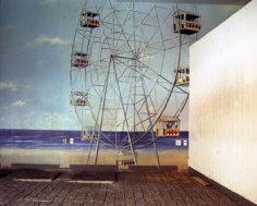 Ferris Wheel Mural, Broadway Arcade, Times Square, NYC, 2004