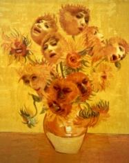 Yasumasa Morimura Singing Sunflowers, 1998