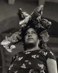Nuestra Senora de las Iguanas, 1980, Gelatin Silver Print, Signed, titled & dated on verso, size variable