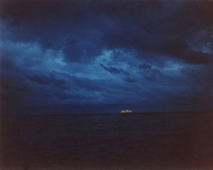 Cruise Ship departing at Night, Miami, FL, 2002, Chromogenic Print, available in 20 x 24, 30 x 40, and 40 x 50 inches, editions of 5.