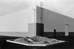 "Lewis Baltz, ""South Corner, Riccar America,"" 1974, from the ""New Industrial Parks"" portfolio, Vintage Gelatin Silver print, Image size 6 x 8 7/8 inches, Sheet size 8 x 10 inches, Edition of 21"