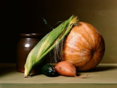 Still Life with Vegetables, 2008, 16.5 x 22.5 inch, chromogenic print, Edition of 7, Signed, titled, dated and editioned on label on verso
