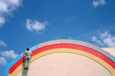 Christian Patterson, Kissimmee, FL, September 2004 (Rainbow Painter), 24 x 36 inch Chromogenic print, edition of 5