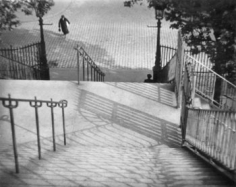 Stairs of Montmartre, Paris, 1925
