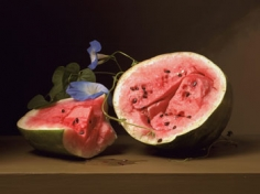 Melons and Morning Glories, 2008, 20.5 x 27.5 inch chromogenic print, Edition of 7, Signed, titled, dated and editioned on label on verso