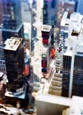site_specific_NYC_07, 2007 [Times Square-Vertical], 61  x 45 inches framed Archival Pigment Print, Edition of 6