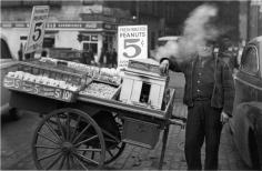The Battery, New York 1945 Gelatin silver print