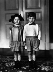 August Sander, Twins, 1925, image 10.25 x 7.25 inches/mount 17.25 x 13.25 inches, Gelatin Silver Print, Signed on verso by Gerd Sander, estate stamp also on verso, Edition 6/12, Illustrated: August Sander - Citizens of the Twentieth Century, pg. 172
