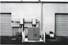 #42 New Industrial Parks near Irvine, California, 1974 Vintage gelatin silver print, 8x 10 inches