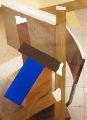 Pello Irazu, La Fabrica (Basel) 7A, 2015. Acrylic on photograph. 12.6 x 9.45 inches