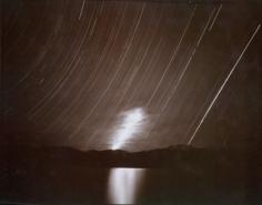 Moonrise, Clouds and Startrails, Lake Tsomriri, Ladakh, India, 1998