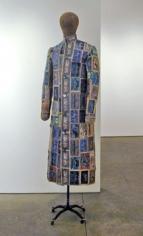 Notgeldmantel, (Notegeld Coat), 2007, 76 x 17 x 20.5 inches mixed media, Unique