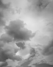 Cloud #108, 2015, Gelatin silver print, 68 x 54 inches, Edition of 6