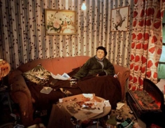 Living in Hell, 2004, 48 x 60 inch Cibachrome Print, Signed, titled, dated and editioned on label on verso, Edition of 7
