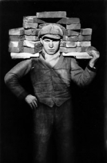 August Sander, Hod-carrier, 1928 image 10.25 x 7.5 inches/mount 17.25 x 13.25 inches, Gelatin Silver Print, Signed on verso by Gerd Sander, estate stamp also on verso, Edition 8/12, Illustrated: August Sander - Citizens of the Twentieth Century, pg. 120
