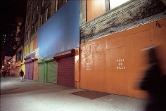 Post No Bills (West 42nd Street), 1999, Chromogenic Print, available in: 20 x 24 inches, edition of 15; 30 x 40 inches, edition 15; and 40 x 50 inches, edition of 5.