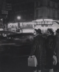 """Brassai """"Au Soleil Levant"""", Sur Les Grands Boulevards"""", 1936-37"""