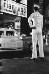 Elliott Erwitt, Times Square, New York City, 1950, 20 x 16 inch Gelatin Silver Print, Signed, titled and dated in pencil on verso. Signed in ink on recto