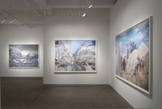 Installation view,Olivo Barbieri: The Dolomite Project, Yancey Richardson Gallery, February 16- March 31, 2012