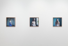 "Installation view, ""Hellen van Meene,"" Yancey Richardson Gallery, September 8- October 22, 2011"