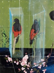 Damien Hirst  Two Parrots, 2012  lithograph on 250gsm Naturalis paper  19 1/2 x 15 inches  Edition of 75  $5,000
