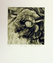 Karin Broker Big Edge, 2002 photogravure 14 x 12 inches Edition 3 of 12 Front right hand corner, under image (KB-39)