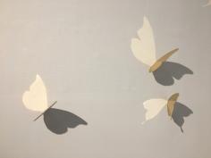 Butterflies- Gold plated