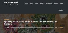 Irena Jurek-- Artist, Curator, and Provocateur of Puritans