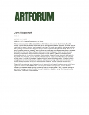John Riepenhoff, Atlanta Contemporary Art Center