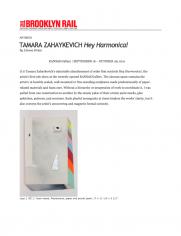 Tamara Zahaykevich: Hey Harmonica!