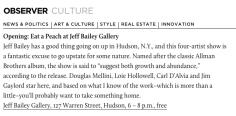 7 Things to Do in New York's Art World Before September 6.