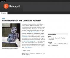Events: Art, Martin Mcmurray