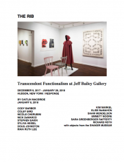 Transcendent Functionalism at Jeff Bailey Gallery