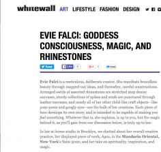 Evie Falci: Goddess Consciousness, Magic and Rhinestones