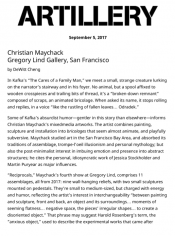 Christian Maychack at Gregory Lind Gallery, San Francisco