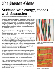 Suffused with Energy, at Odds with Abstraction