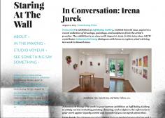 In Conversation with Irena Jurek