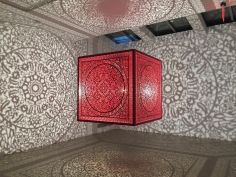 Anila Quayyum Agha - All the Flowers Are for Me (Red - Ed. of 2)