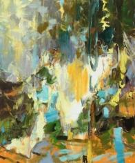 Trebow, 2015. Oil on linen, 60 x 50 in.