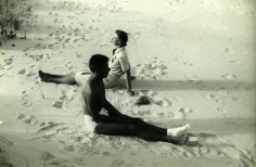 Paul Cadmus and Margaret French, Fire Island, c. 1940