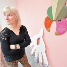 Trish Tillman and sculptures