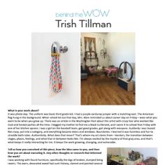 "Art Pow Wow ""Behind the WOW: Trish Tillman"""