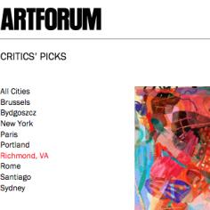 "Carolyn Case in Artforum: ""Critics' Pick"" by Andy M. Clark"