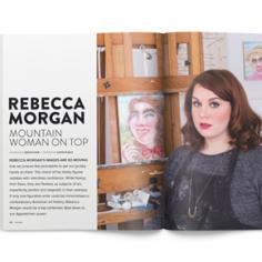 Juxtapoz Magazine Rebecca Morgan