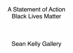 A Statement of Action   Black Lives Matter