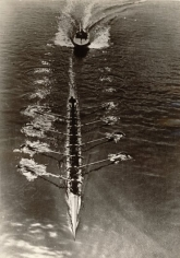 Eight Oarsmen and Motorboat, 1939